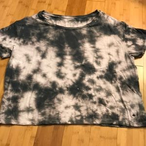 "American Eagle ""soft and sexy"" tie dye tee"